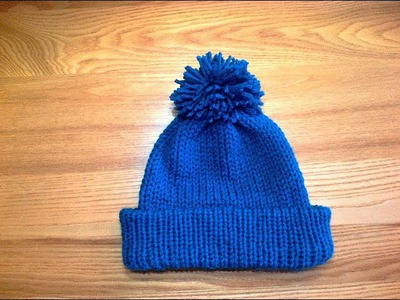 #3.Addi Express How To Make A Brim Hat (Loom Knit Style)