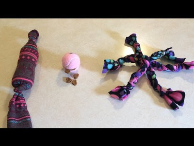 3 DIY Dog Toys Tutorial (Wednesdays with Wizzy)