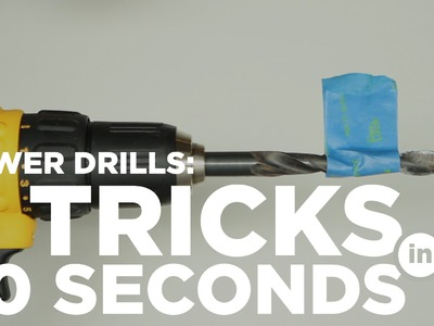 5 Power drill tricks for your DIY projects