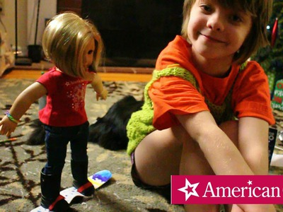 American Girl Store in Denver and how to make an American Girl DIY Craft- Day 551 | ActOutGames