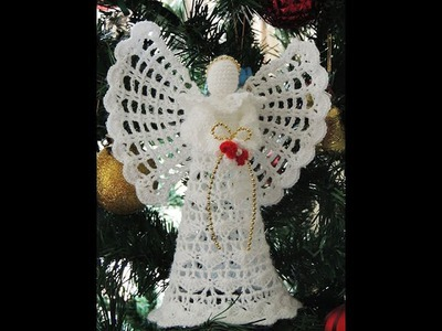 Angel en Crochet : Cabeza