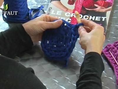 Apprendre le crochet : faire un crochet rond