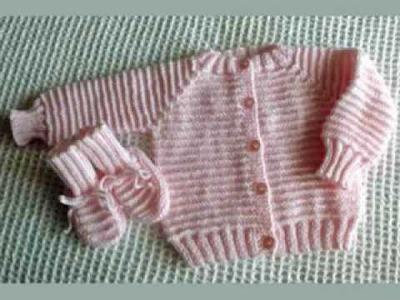 Baby Sweater Knitting