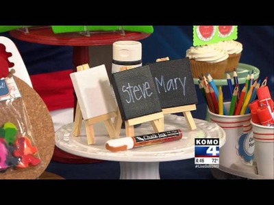 Back to School Craft Ideas with KOMO-TV DIY Diva Malia Karlinsky