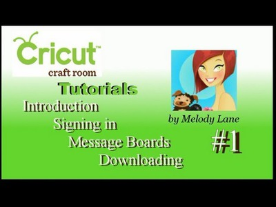 Beginning Cricut Craft Room Tutorials #1