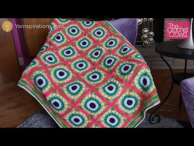 Blue Lagoon Crochet Afghan Tutorial