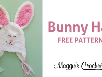 Bunny Hat Free Crochet Pattern - Right Handed