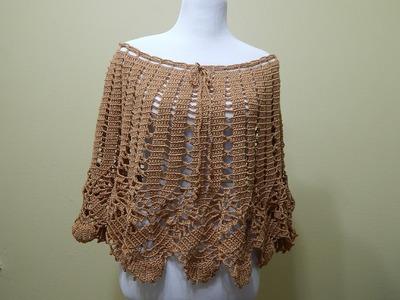 Capa ó Falda Crochet paso a paso