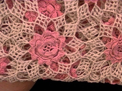 """Collective Yard Sale Finds Rose Crochet Blanket """"Incredible"""""""