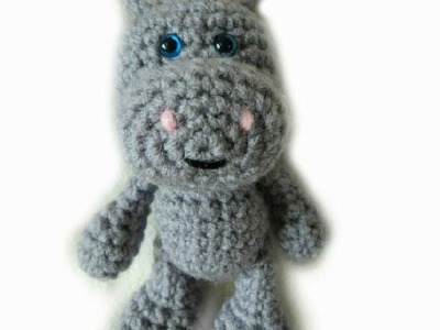 Crochet along make a Hippo part 2