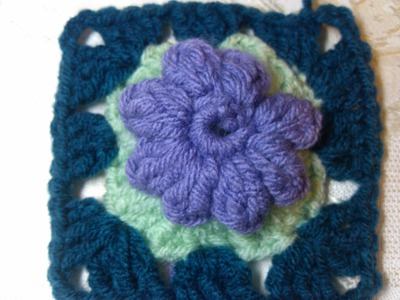 Crochet Blooming Granny Square