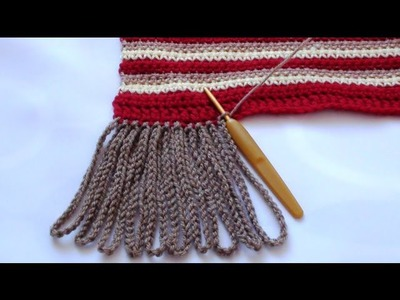 Crochet Chain Tassels - How to Make Tassels
