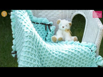 Crochet Crocodile Stitch Afghan Tutorial