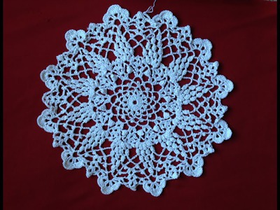 Crochet Grape Harvest Doily Part1