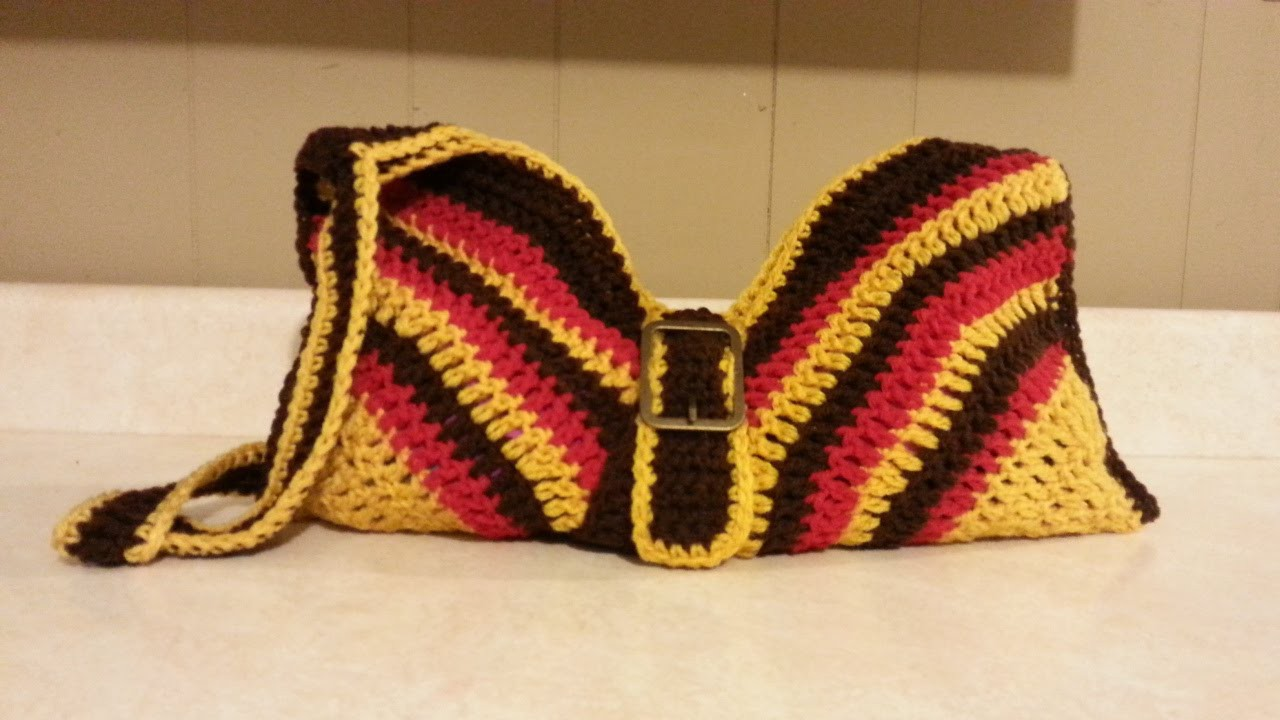#Crochet Handbag Purse #TUTORIAL How to crochet DIY crochet