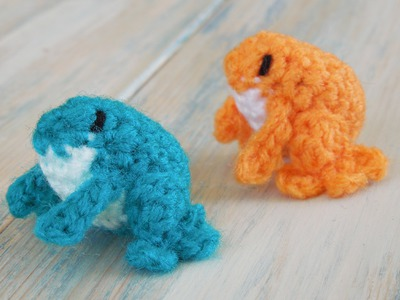 (crochet) How To Crochet a Mini Frog - Yarn Scrap Friday