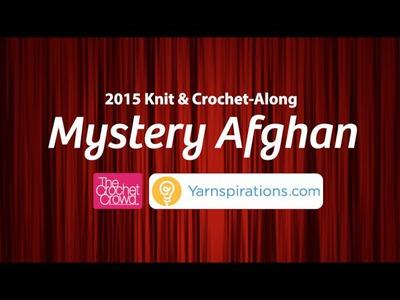 Crochet Mystery Afghan: Week 8