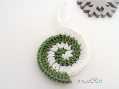 Crochet Ornament: The Perfect Spiral Ornament