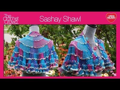 Crochet Sashay Shawl Tutorial