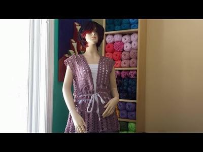 Crochet Summer Cardigan Part 2