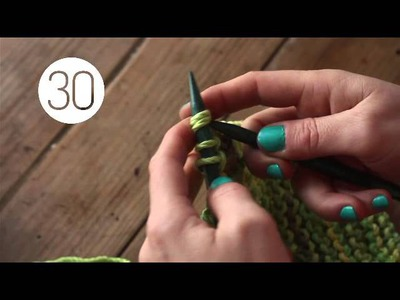 Cuadros Patchwork · How-to knit Patchwork squares
