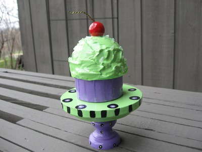 Cupcake Money Holder Trinket Box Craft Tutorial
