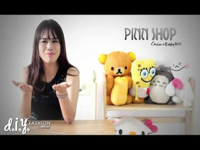 D.I.Y Fashion by PINNSHOP : Knitting Doll