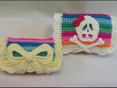 كروشيه شنطة لسنارات الكروشيه crochet hook case