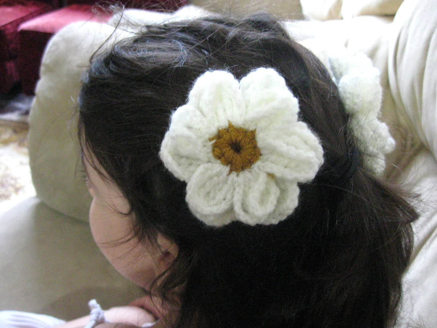 Daisy Flower - Crochet Tutorial
