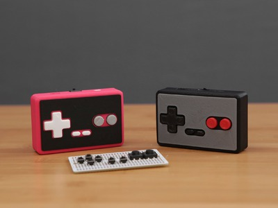 DIY Bluetooth Gamepad - 3D Printing Projects