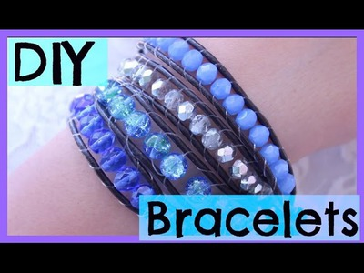 DIY Bracelet Tutorial (Chan Luu Inspired Wrap Bracelet) -Lovenector13