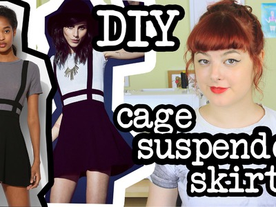 DIY Cage Suspender Skirt | Make Thrift Buy #12