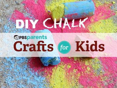 DIY Chalk | Crafts for Kids | PBS Parents