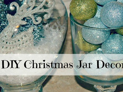 ❄ DIY Craft ❄ Christmas Jar Decor ❄