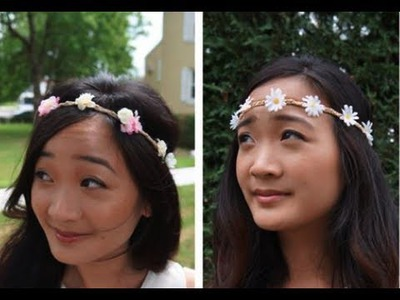 DIY: Flower Child Headband Tutorial