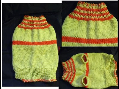 DIY Hundepullover Stricken*CHIHUAHUA*YORKIE*Dog sweater knitting Tutorial Handarbeit