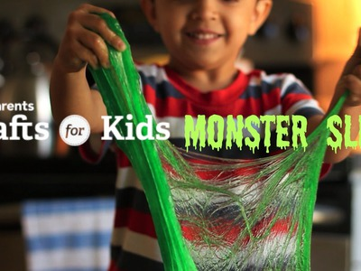 DIY Monster Slime | Crafts for Kids | PBS Parents