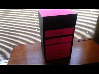 DIY Organizer Drawer Box - Craft Box