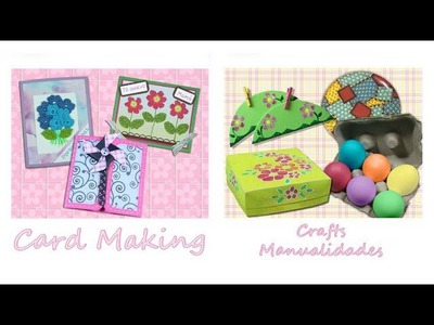 DIY Pintura Facil, Scrapbook y Manualidades *Card Making, Paper Craft & Painting*