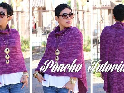DIY Poncho Tutorial w. Mimi G!
