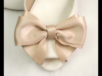 DIY Ribbon Hair Bow, Tutorial, Bow #8