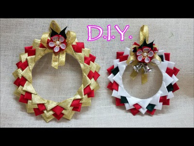 ❄ ☃ ❄ D.I.Y. Satin X-Mas Ornament Tutorial ❄ ☃ ❄