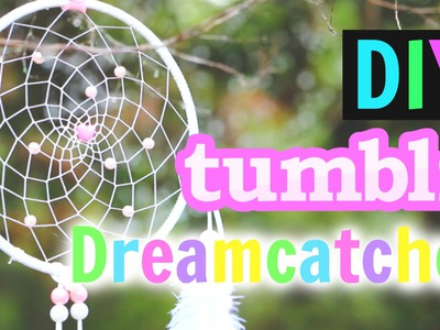 DIY Tumblr Dreamcatcher Tutorial! | Gillian Bower