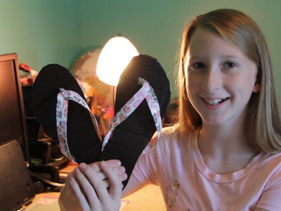DIY Tutorial - How to Make Cute and Easy Duct Tape Flip Flops