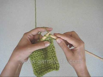 DROPS Knitting Tutorial: How to Knit