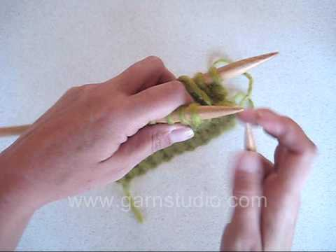 DROPS Knitting Tutorial: How to bind off tubular