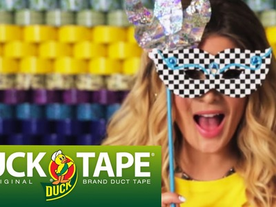 Duck Tape Craft Ideas: How to Make a Party Mask