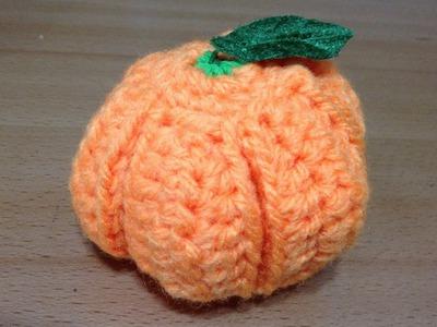 みかんの編み方 How to knit mandarin
