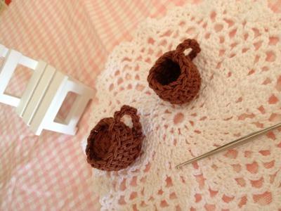 カップの編み方を解説☆HOW TO KNITTING CUP☆かぎ針編み
