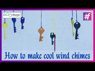 Easy DIY Tutorial | How To Make Cool Wind Chimes
